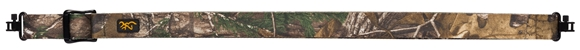 "Picture of Browning All Season Web Sling - Fits Most Long Guns, 26-40"", Locking Metal Swivels, Realtree Xtra Camo"