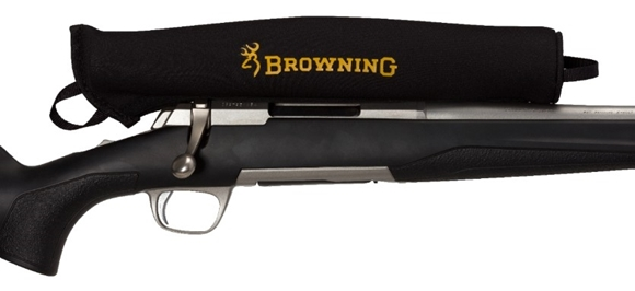Picture of Browning Shooting Accessories - Neoprene Scope Cover, Medium, Fits 40mm Lens, Black