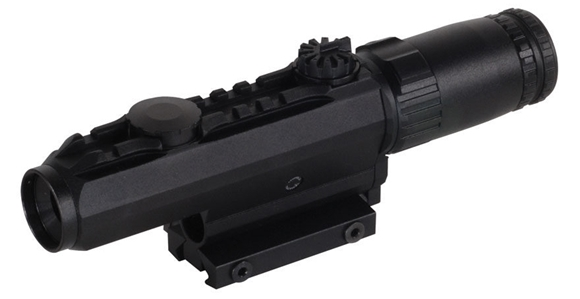 Picture of Used Leupold Mark 4 CQ/T - 1-3x14mm, Matte, Illuminated Circle Dot, With Original Box, Excellent Condition
