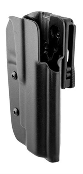 """Picture of Blade-Tech Outside the Waistband Holsters, Classic OWB Holsters - 1911 5"""" Government, Tek-Lok, 3-Position Adjustable Cant, Black, Right Hand"""