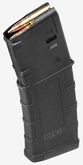 Picture of Magpul PMAG Magazines - PMAG 30 AR/M4 GEN M3, 300 AAC Blackout, 5/30rds, Black