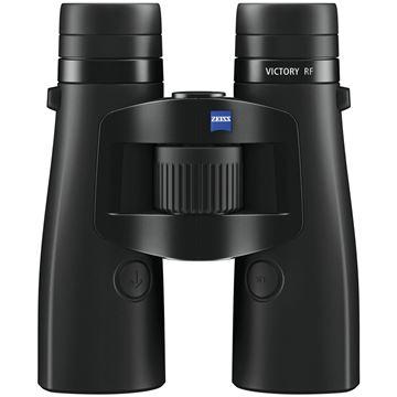 Picture of Zeiss Hunting Sports Optics, Victory RF Binoculars - 10x42mm, Matte Black, Ultra-FL-Type Lens, 15-2300 Meter Rangefinding, LotuTec, 400 mbar Water Resistance, Nitrogen Filled