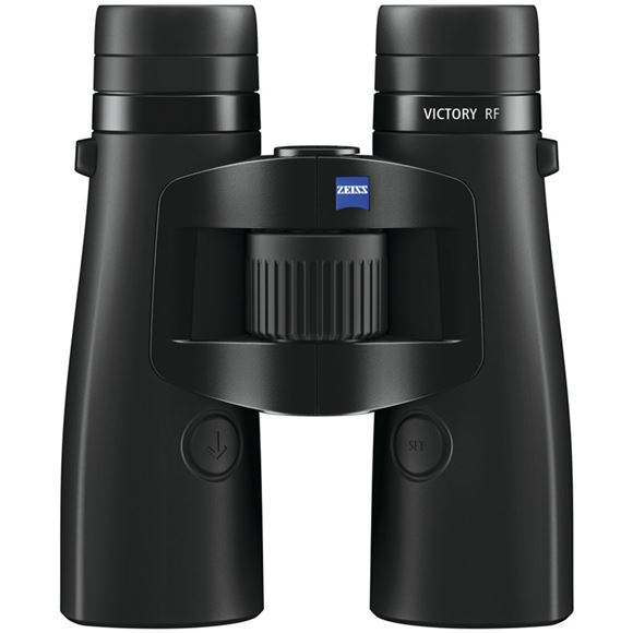 Picture of Zeiss Hunting Sports Optics, Victory RF Binoculars - 10x42mm, Matte Black, Ultra-FL-Type Lens, 15-2300 Meter Rangefinding, LotuTec, 400 mbar Water Resistance, Nitrogen Filled