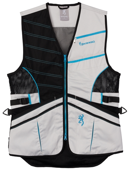 Picture of Browning Outdoor Clothing, Shooting Vests - Ace Shooting Vest for Her, Teal, XL