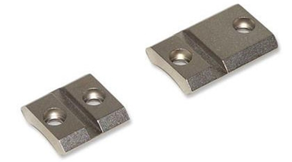 Picture of Warne Scope Mounts Bases, 2 Piece - Maxima Steel M889/843, Silver, For Kimber 84, Short & Long Action, 8-40 Screws