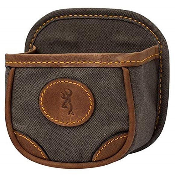 Picture of Browning Shell Carrier - Lona Canvas/Leather Shell Box Carrier, Flint