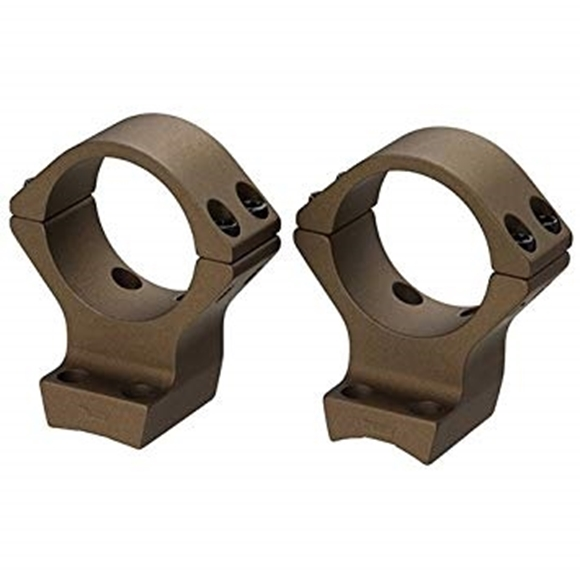 "Picture of Browning Scope Rings & Bases, Integrated Scope Mount System - X-Bolt, 1"", Intermediate, Burnt Bronze Cerakote"