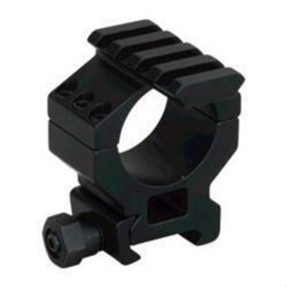 Picture of Millett Tactical Hardware, Tactical Rings w/Accessory Rail - 30mm, Medium, Matte