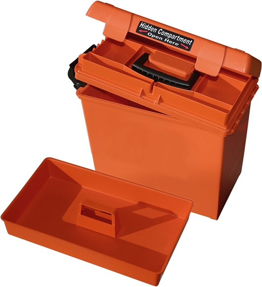 "Picture of MTM Case-Gard Dry Boxes, Sportsmen's Plus Utility Dry Boxes - SPUD 2, 15"" x 8.8"" x 13"", Orange"