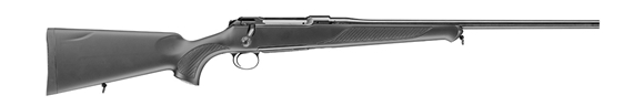 "Picture of Sauer S 101 Classic XT Bolt Action Rifle - 300 Win Mag, 24"", Matte Black, ERGO MAX Polymer Ambidextrous w/Symmetrical Palm Swell Stock w/Soft Touch Coating, Ever Rest Bedding, 4rds"