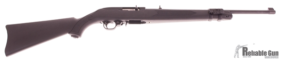 "Picture of Used Ruger 10/22 Semi-Auto 22 LR, 18"" Blued/Synthetic, With LaserMax Laser Forend, One Mag, Excellent Condition"