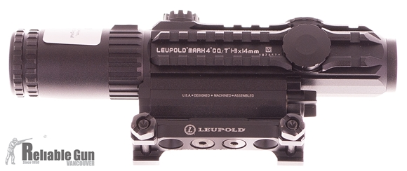 Picture of Used Leupold M8 Riflescope, 4x32mm, Some Scuff Marks, Otherwise Good Condition