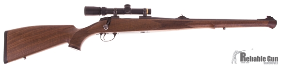 """Picture of Used Sako 85 Bavarian Carbine Bolt-Action 308 Win, 20"""" Barrel, With leupold VX-3 1.5-5x20mm Scope, Very Good Condition"""