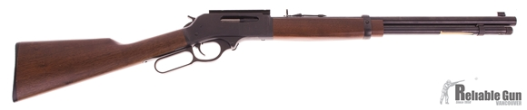 """Picture of Used Henry Big Boy Steel Lever-Action 30-30 Win, 20"""" Heavy Barrel, With Weaver Rail, Good Condition"""