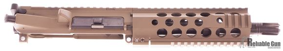 """Picture of Used Northeastern Arms NEA-15 Complete Upper Receiver, 7.62x39mm, 7.5"""" Barrel, FDE, Railed Handguard, Includes Charging Handle & BCG, Good Condition"""