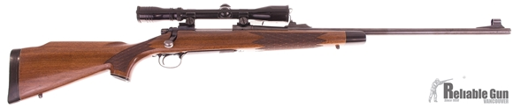 """Picture of Used Remington 700 BDL Bolt-Action 7mm Mag, With Redfield """"Wide-View"""" 3-9x Scope, Good Condition"""
