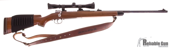 "Picture of Used DWM Mauser 96 Bolt-Action 7x57mm, Sporterized, 24"" Barrel, With Bushnell Banner 4x32 Scope, Includes RCBS Dieset, Good Condition"