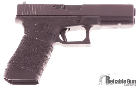 Picture of Used Glock 17 Gen4 Semi-Auto 9mm, With Grip Tape, 2 Mags & Original Box, Very Good Condition