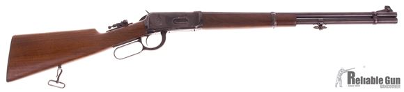 "Picture of Used Winchester Model 94 Lever-Action 30-30 Win, 20"" Barrel, 1940's Vintage, Tang Sight, Good Condition"