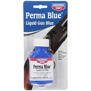 Picture of Birchwood Casey Refinishing, Metal Finishing - Perma Blue Liquid Gun Blue, 90 ml (3 oz) Plastic Bottle