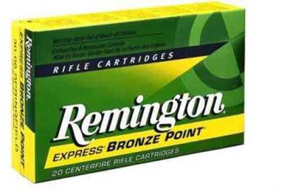 Picture of Remington Express Centerfire Rifle Ammo - 250 Savage, 100Gr, PSP, 20rds Box