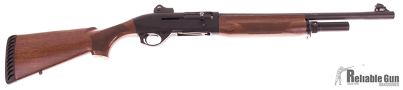"Picture of Used Benelli M2 Tactical Semi-Auto 12ga, 3"" Chamber, 18"" Barrel (IC), Rifle Sights, Walnut Stock, Good Condition"