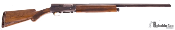 "Picture of Used Browning Auto 5 Semi-Auto 12ga, 2 3/4"" Chamber, 28"" Barrel Full Choke, Also Includes Spare 26"" Barrel Mod Choke, Good Condition"