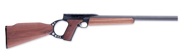 """Picture of Browning Buck Mark Target Rifle - 22 LR, 18"""", HB, Matte Blued, Oil Finish Walnut, 10rds"""