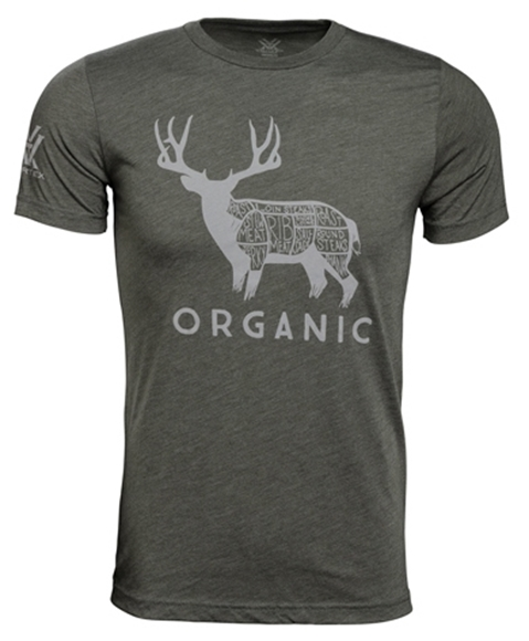 Picture of Vortex Optics Accessories - Organic Mule Deer T-Shirt, Olive Green, XL