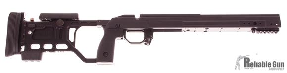 Picture of Used Kinetic Research Group (KRG) Chassis, Whiskey 3 Chassis - Gen 4, Fixed, Tikka T3, Black, Salesman sample, Small Blemish On Forend.