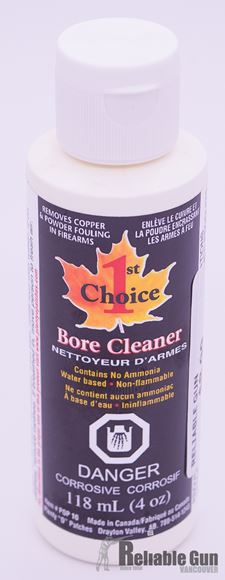 Picture of 1st Choice Bore Cleaner - 4oz (118ml)