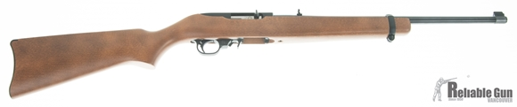 "Picture of Used Ruger 10/22 Carbine Rimfire Semi-Auto Rifle - 22 LR, 18.50"" Barrel,  Hardwood Stock, 1 Magazine, Excellent Condition"