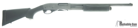 "Picture of Used Remington 870 Express Pump-Action 12ga, 3"" Chamber, 18"" Barrel, Short LOP Hogue Stock & Forend, Very Good Condition"