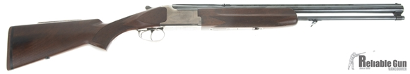"Picture of Used BC Miroku model 7000 Combination Gun, 12ga 3""/ 308 Win, 24"" Barrels, Glued on Cheek Pad, Good Condition"