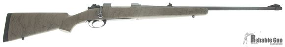 Picture of Used BRNO ZG-47 9.3x62, McMillan Edge Synthetic Stock, Satterly 3 Position Safety, W/ Original Stock, Cocking Piece, and Safety, Excellent Condition