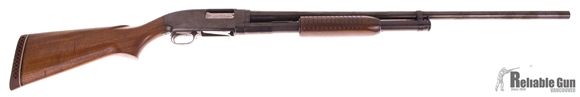 Picture of Used Winchester Model 12, Pump Action Shotgun, 12-Gauge 2-3/4'', 30'' Barrel Full Choke, Wood Stock, Re-Blued, Very Good Condition