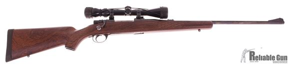 Picture of Used Waffen Frankonia Mauser .270 Win Bolt Action Rifle, 3-9 Scope, Ramline Wood Pattern Synthetic Stock, Excellent Condition