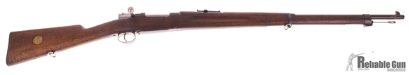 "Picture of Used Swedish M96 Mauser 6.5x55 Bolt Action Rifle, '""Waffenfabrik Mauser, Oberndorf"", Non-Matching Serials, Good Condition"