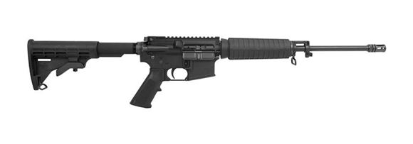 """Picture of Bushmaster XM-15 QRC Semi-Auto Carbine - 5.56mm NATO/223 Rem, 16"""", Black, FNC Treated Superlight 4150 Steel, 7075 Forged Receivers, Black M4 6-Position Collapsible Stock, 5/30rds, A2 Flash Hider, No Sights"""