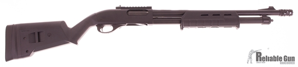 """Picture of Used Remington 870 Tactical Pump-Action 12ga, 3"""" Chamber, 18.5"""" Barrel With Breacher Choke, Cerakote, XS Sights & Rail, Magpul Furnature, Excellent Condition"""