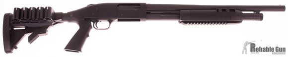 Picture of Used Mossberg 500 Tactical, Pump Action Shotgun, 12 Gauge, ATI Collapsible Stock, 18'' Barrel Bead Sight, Good Condition