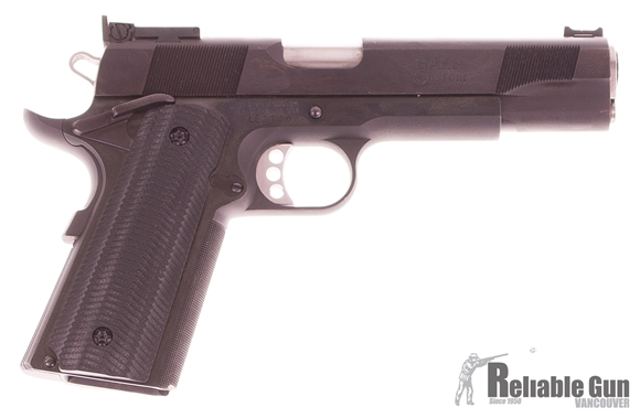 Picture of Used, Les Baer Premier II,(1.5''@50 Yds Guarantee) 45 Acp, 1911 Pistol, 5'' Match Barrel, Blued Frame And Slide, Adjustable Target Sights, Deluxe Serrated Black Grips, 1 Magazine, Very Good Condition