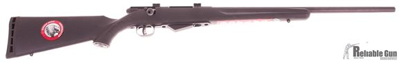 "Picture of Used Savage Model 25 Walking Varmint Bolt-Action Rifle - 17 Hornet, 22"" Matte Blued Heavy Barrel, Black Synthetic Stock, Accutrigger, New In Box/ Salesman Sample"