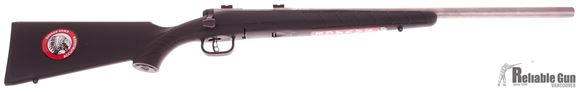 "Picture of Used Savage B Mag Bolt-Action Rifle - 17 WSM, 22"" Stainless Heavy Barrel, Black Synthetic Stock, Accutrigger, Bases, New In Box/ Salesman Sample"
