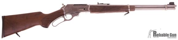 Picture of Used Marlin 336SS Lever Action Rifle, 30-30 Win, Hammer Spur, Very Good Condition