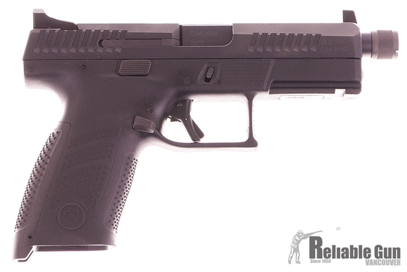 Picture of Used CZ P10C Semi-Auto 9mm Luger, Suppressor Height Tritium Sights, With 2 Mags & Original Case, Excellent Condition