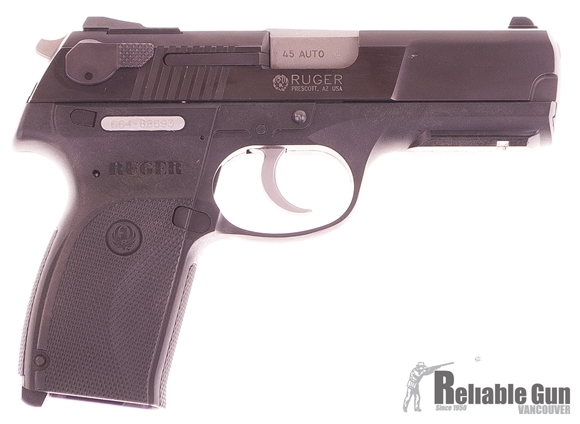 Picture of Used Ruger P345 Semi-Auto 45 ACP, Blued, With 2 Mags, Very Good Condition