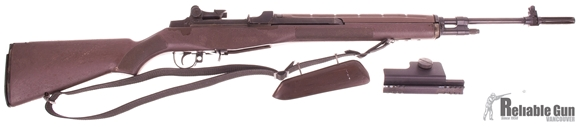 "Picture of Used Norinco M305 Semi-Auto 308 Win, 22"" Barrel, Blued, Brown Synthetic Stock, With B Square Scope Mount, No Mag, Fair Condition"