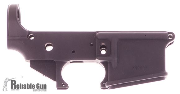 Picture of Used Blue Line Solutions BL-15 Lower Receiver, Stripped, Never Assembled, Some Scuff Marks, Otherwise Good Condition