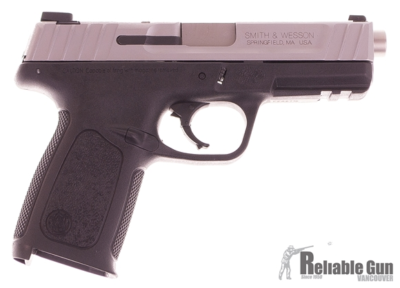 "Picture of Used Smith & Wesson SD9VE Semi-Auto 9mm, 4.25"" Barrel, 2 Mags & Original Box, Very Good Condition"